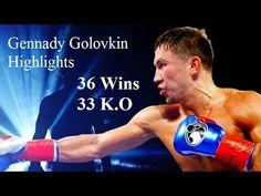 Gennady Golovkin highlights - 'GGG' (36 wins & 33 Knockouts)