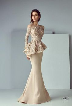 Details about Arabic Formal Peplum Champagne Evening Gown Delivery In About 28 Days Bride Groom Dress, Bride Gowns, Wedding Gowns, Formal Evening Dresses, Formal Gowns, Formal Wear, Afternoon Dresses, Casual Wear, Champagne Evening Gown