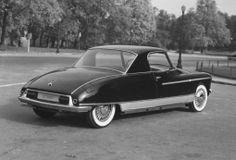 Citroën DS Le Dandy by Henri Chapron 1960, un coupé 2+2 places - version hardtop de La Caddy -, avec l'aile arrière d'un seul tenant, millésimes 1960-1968 (ca. 1964 la porte de coffre remontée)