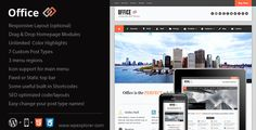 Discount Deals Office Responsive Business Themeyou will get best price offer lowest prices or diccount coupone