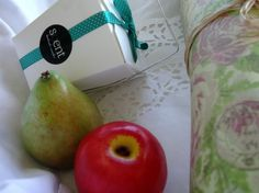 Apple & Pear Fruit Soap Set £10.50 by Scent Cosmetics #Craftfest.  www.scentcosmetics for more info about us.