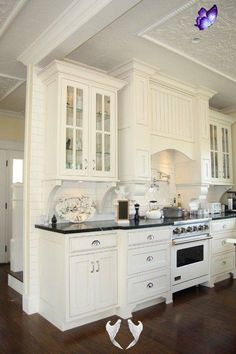 List of San Diego's Best Home Remodeling Contractors White kitchen design is always a classic design.<br> Classic Home Improvements believes in friendly competition and shares who we believe to be the best remodeling contractors in San Diego. New Kitchen, Kitchen Decor, Kitchen Design, Kitchen Ideas, Decorating Kitchen, Kitchen Styling, White Kitchen Cupboards, Kitchen Cabinets, Kitchen Backsplash