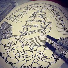 MOM-  Boat tattoo idea :)  -PH