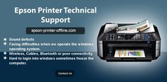 Is the Epson printer facing the communication error? How to resolve it? Windows Operating Systems, Epson, Just Go, Printer, Communication, Number, Website, Printers, Communication Illustrations