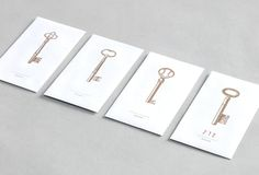 The Greenwich Hotel keycard envelope by Apartment One