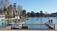 Parque del Buen Retiro, Madrid, Spain