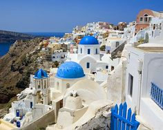 Santorini - Pictures don't do this island justice. It's even more breathtaking in person!