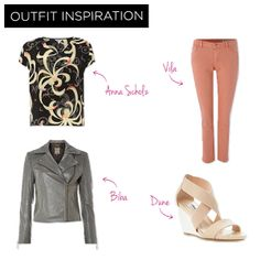 For a casual day look – wear muted pastel jeans, with wedges to keep it day time appropriate and elongate your legs.