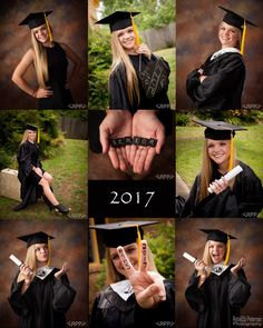 These Trendy Cap & Gown Pictures Rebecca Peterman Photography could be done at the school just as easily as in the studio. The full sequence only takes a few minutes. Graduation Picture Poses, College Graduation Pictures, Graduation Portraits, Graduation Photoshoot, Grad Pics, Graduation Ideas, Senior Portraits, High School Graduation Picture Ideas, Grad Photo Ideas