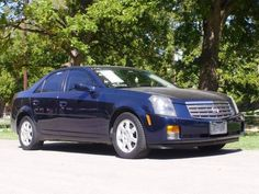 Better times. A 2006 Cadillac CTS.