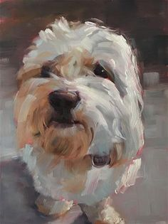 "Daily Paintworks - ""Clyde"" - Original Fine Art for Sale - © Deborah Newman"