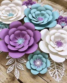Paper Flowers Backdrop If you want to take your decorations to the next level, these eye catching flowers are sure to be the centerpiece of any room! This listing includes 1 flower of your choice, for multiple flowers just add them Paper Flowers Craft, Large Paper Flowers, Paper Flower Wall, Paper Flower Backdrop, Flower Wall Decor, Flower Crafts, Diy Flowers, Flower Petals, Diy Cardstock Flowers