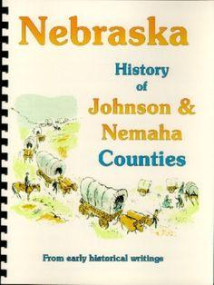 NE Johnson & Nemaha County Nebraska 1882 history genealogy Tecumseh WPA new RP