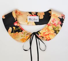 Floral Peter Pan Handmade Necklace Collar Women Neck Accessory Trend. $19.90, via Etsy.