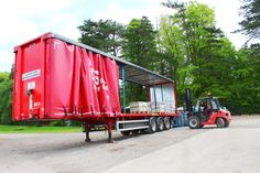 And so it begins! First lorries being loaded at our nurseries. Destination: Chelsea Flower Show