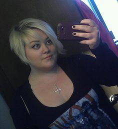 fat girls + short hair = YES!