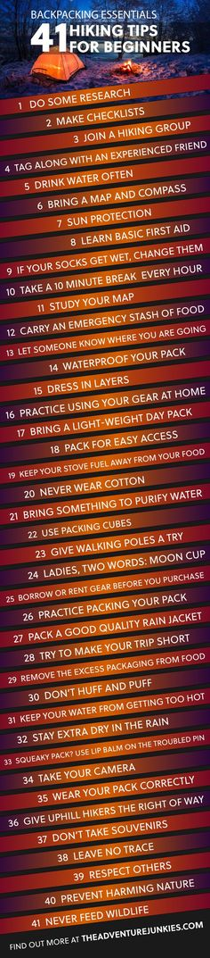 41 Hiking Tips For Beginners – Hiking Tips For Beginners – Backpacking Tips and Tricks