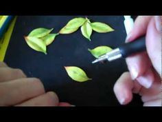 Sculpting and Painting Simple 3D Leaf using copic markers