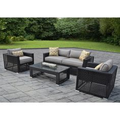 Sam's Club - Soho 4 pc. Deep Seating Set with Premium Sunbrella® Fabric, Original Price $999.00