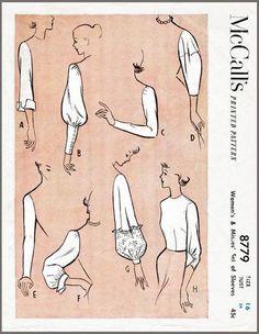 Alte Schnittmuster 1950er Jahre 50er Jahre von LadyMarloweStudios