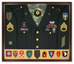 Very cool site for all us military veterans. I finally figured how I want to disply my military career!