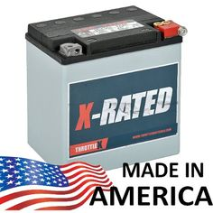 Fits Model Years Electra Glide, Road Glide, Road King, Street Glide and Ultra Classic Replaces - Made in the U. Harley Davidson Battery, Harley Davidson Street Glide, Harley Davidson Bikes, Motorcycle Battery, Motorcycle Gear, 2012 Street Glide, Sportster Parts, Cheap Motorcycles, 1200 Custom