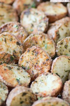 Parmesan Herb Roasted Potatoes - Swanky Recipes