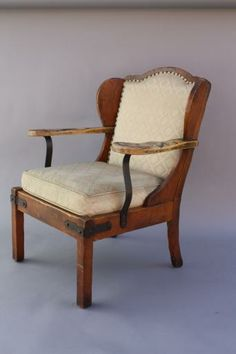 6656. Original Monterey Armchair, Seating, Antique Monterey, Rancho and California Furniture/Lighting at Revival Antiques