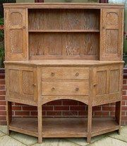 Antiques and Interiors - Heals golden oak kitchen dresser  Saw this in the shop, wanted it!