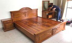 Wood Bed Design, Wooden Door Design, Wooden Doors, Sofa Design, Tv Unit Furniture, Bedroom Furniture Sets, Bed Furniture, Furniture Design, Space Saving Dining Table