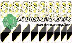 LeLeLe Lemon Custom Jamberry NAS Design