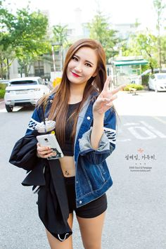 EXID LE - Born in South Korea in 1991. #Fashion #Kpop