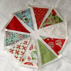 Have som Xmas fabric, need to try it!
