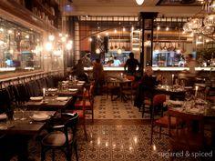 barcelona restaurant toto - client inspiration for flooring