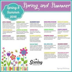 New spring and summer scents are in and there are so many good ones to choose from. Come check out the new warmers and diffusers as well! www.simplywicklesscandles.scentsy.us