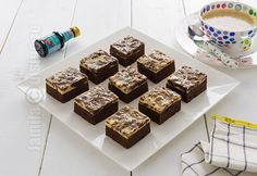 Brownie cheesecake – reteta video via @JamilaCuisine