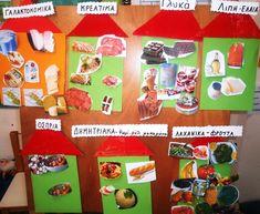 1ο ΝΗΠΙΑΓΩΓΕΙΟ ΙΣΤΙΑΙΑΣ: Μαθαίνουμε για την ΔΙΑΤΡΟΦΗ μας στο νηπιαγωγείο School Programs, Classroom, Gift Wrapping, Nutrition, Teaching, Vegetables, Fruit, Projects, Blog