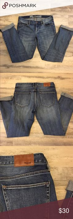 Madewell jeans Boyfriend style madewell jeans. In great condtion. Madewell Jeans