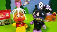 アンパンマンもリフレッシュ♪ おもちゃアニメ❤おかあさんといっしょ♦ Anpanman Toys