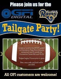 Tailgate Party Flyer  College Towne Apartments  Steven Courville