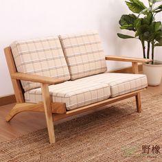 Дикий дуб S290 диван ткань диван америка белый дуб твёрдая древесина диван скандинавский современный купить на AliExpress