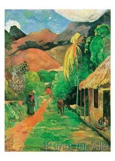 Paul Gauguin - Chemin á Papeete