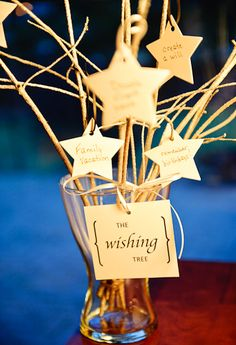 Start a new New Year Tradition - Create a Wishing Tree!