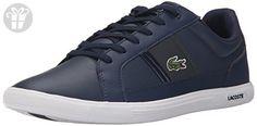 Lacoste Men's Europa Lcr3 Spm Fashion Sneaker Fashion Sneaker, Navy/dark Grey, 13 M US (*Amazon Partner-Link)