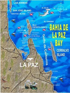 La Paz Baja California Mexico | ... CALIFORNIO: LA PAZ, BAJA CALIFORNIA SUR, MEXICO, MAPA DE LA CIUDAD