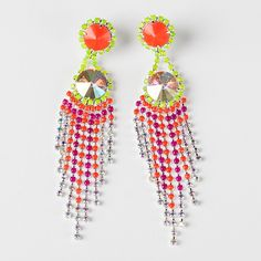 Have a hibiscus margarita on the rocks in these delicious earrings.