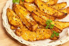 Cartofi cu unt, parmesan şi busuioc-Cartofi cu unt, parmesan şi busuioc
