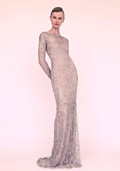 In wedding gowns, we will continue to see gorgeous use of LACE. (Marchesa wedding dress.)