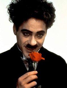 Robert Downey Jr. wins as Charlie Chaplin
