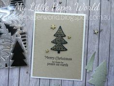 Fun Christmas Card Design: My Little Paper World: CAS(E) this Sketch #201
